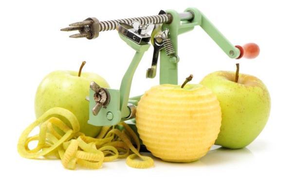 사과 청소 칼